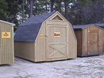 Regular Portable Barn 10x12