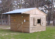 12' x 16' Horse Stall
