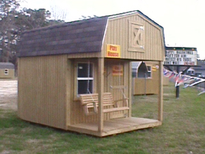 8x12 Standard Playhouse